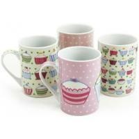 Sabichi 4 Piece Cupcake Mug Set - 107237 £5.85