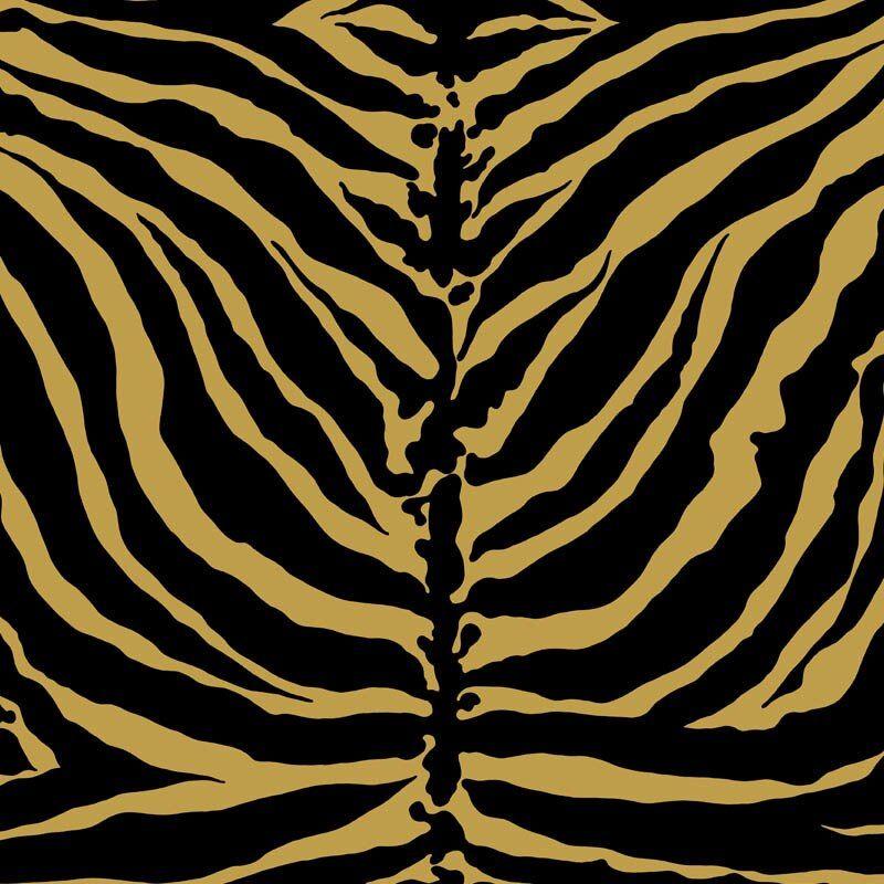 Tiger Stripe Goldmine Animal Print Wallpaper Tiger Stripes Pattern Wallpaper