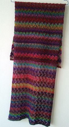 Kunterbunt Ein Schal Für Sommerabende Schal Sockenwolle Pinterest