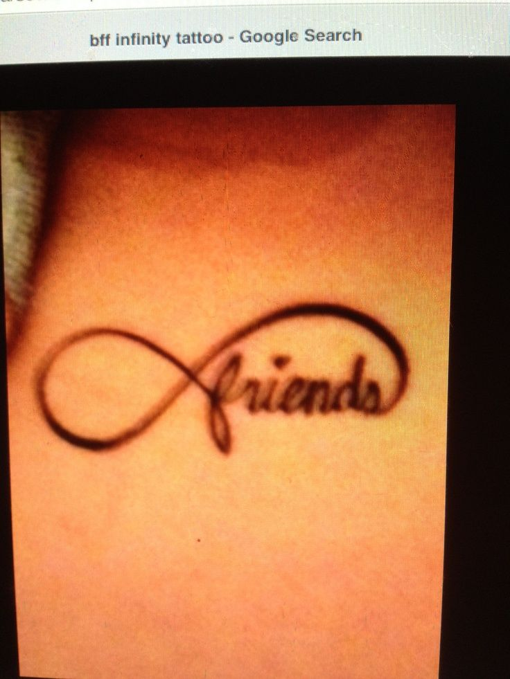 Infinity Sybol Butterfly Tattoo Infinity Symbol And Friends