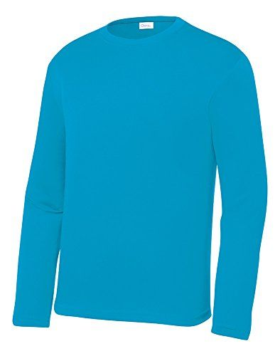 OPNA Youth Athletic Performance Long Sleeve Shirts for Boys or Girls  Moisture Wickin