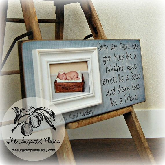 aunt gift frame for aunt godmother godfather godparents baptism baby shower christening baptism 8x20 only an aunt gift quotes baby showers and