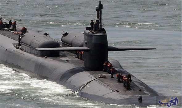 دخلت الغواصة النووية الأمريكية أوهايو Ssgn726 الأربعاء 13 يوليوتموز 2016 ميناء مدينة بوسان في كوريا الجنوبية Expedition Yachts Armored Truck Submarines