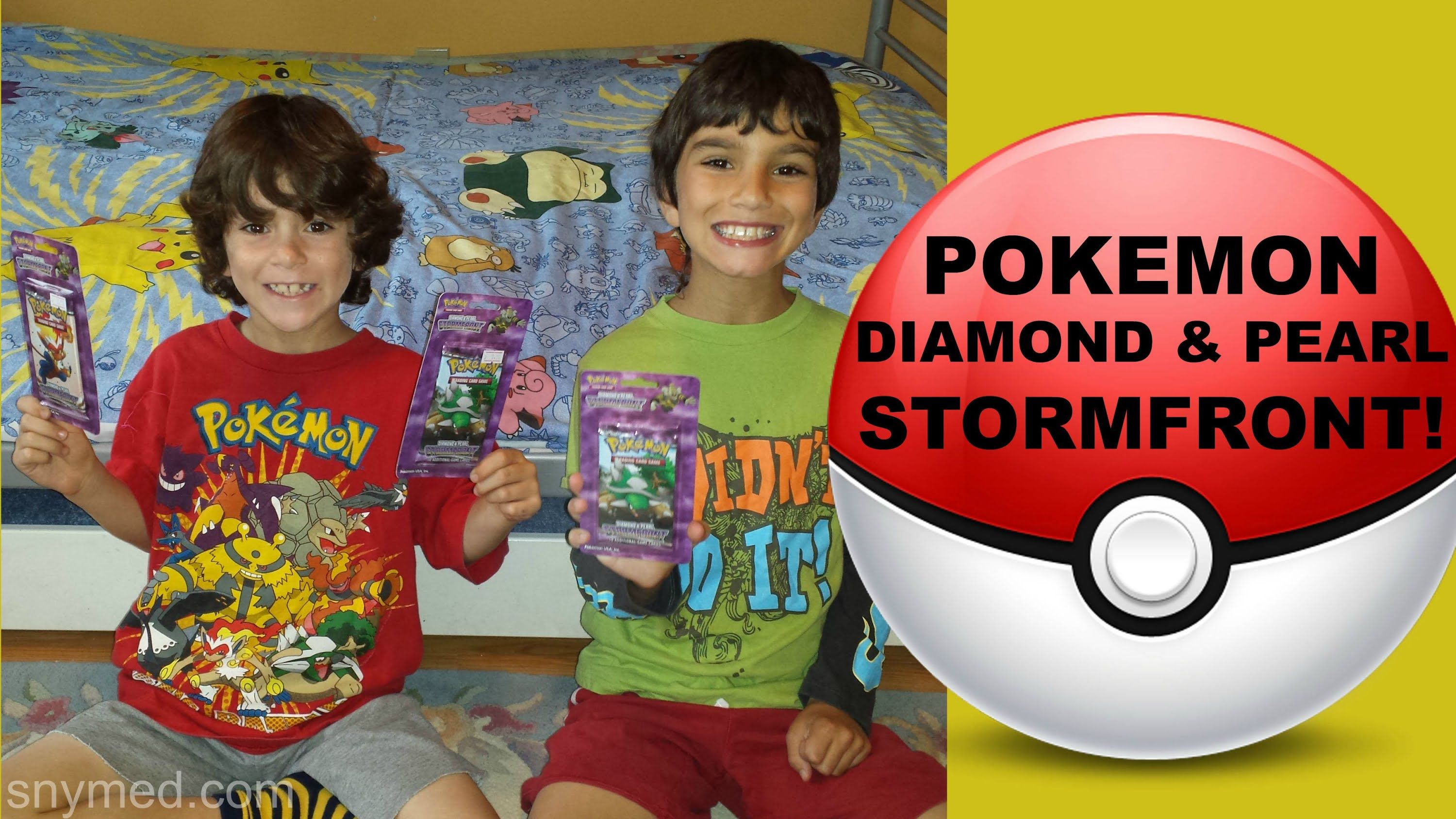 #VIDEO: Pokemon Diamond & Pearl Stormfront Booster Pack Openings Video!  WATCH: https://youtu.be/_0Pg6r_vif8