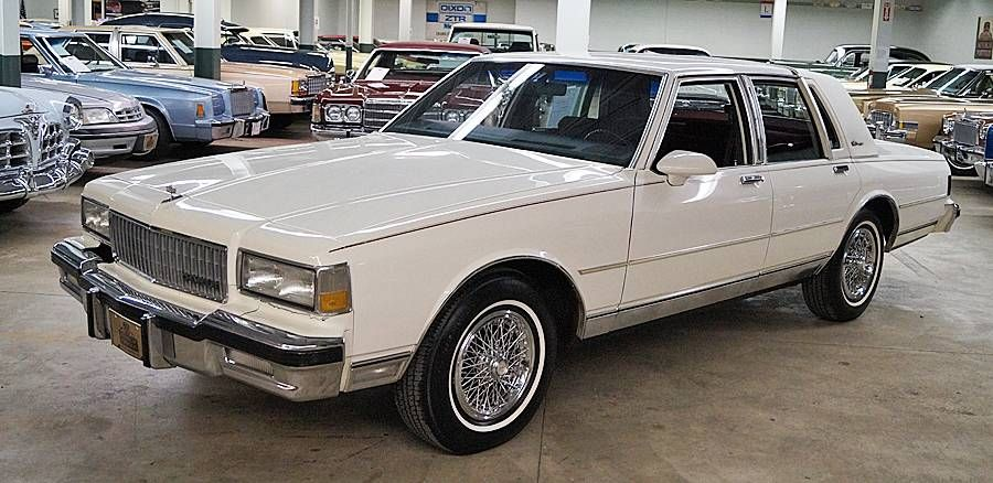 1987 Chevrolet Caprice Classic Brougham Ls For Sale 1805531 Caprice Classic Caprice Classic For Sale Chevrolet Caprice