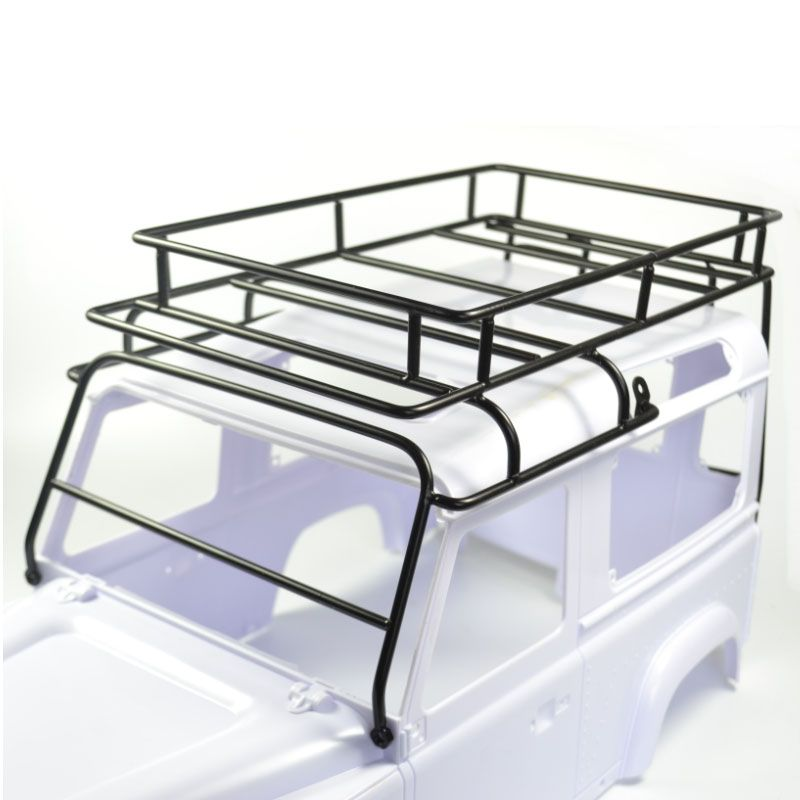 1 10 Land Rover Defender D90 Roof Rack Rock Crawler Luggage Tray Set Land Rover Defender Rock Crawler Land Rover
