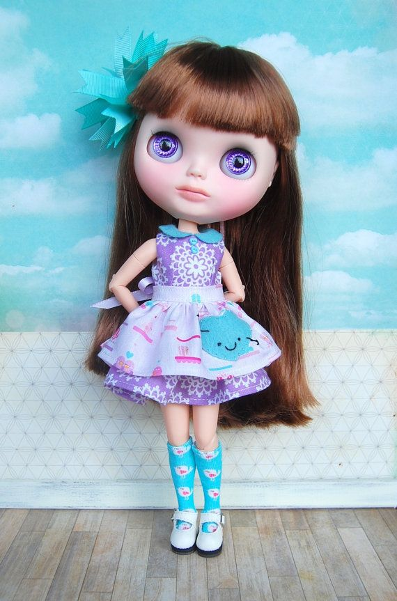 Cupid's Arrow Dress with socks by BlytheByBetty on Etsy