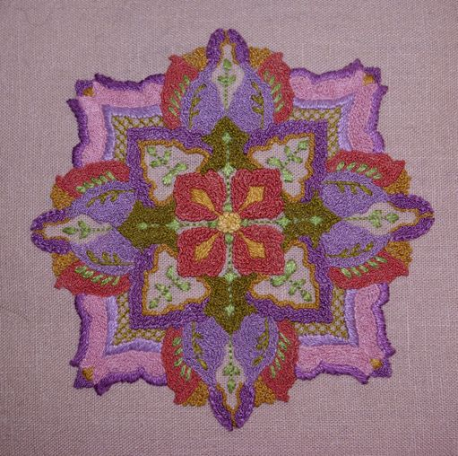 Gorgeous Embroidery By Kathryn Read At Holly Berry House In Colorado