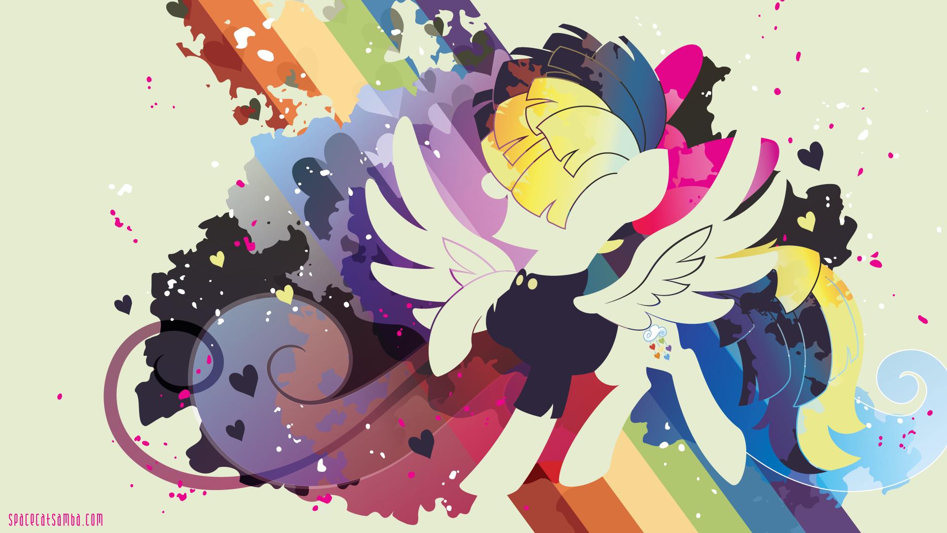 Songbird Serenade Silhouette Wall By Sambaneko My Little Pony