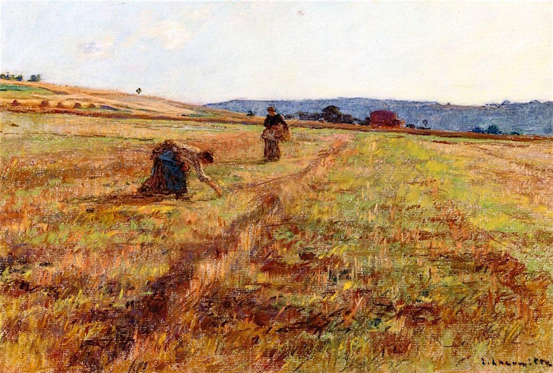 Women in the Fields Léon Augustin Lhermitte