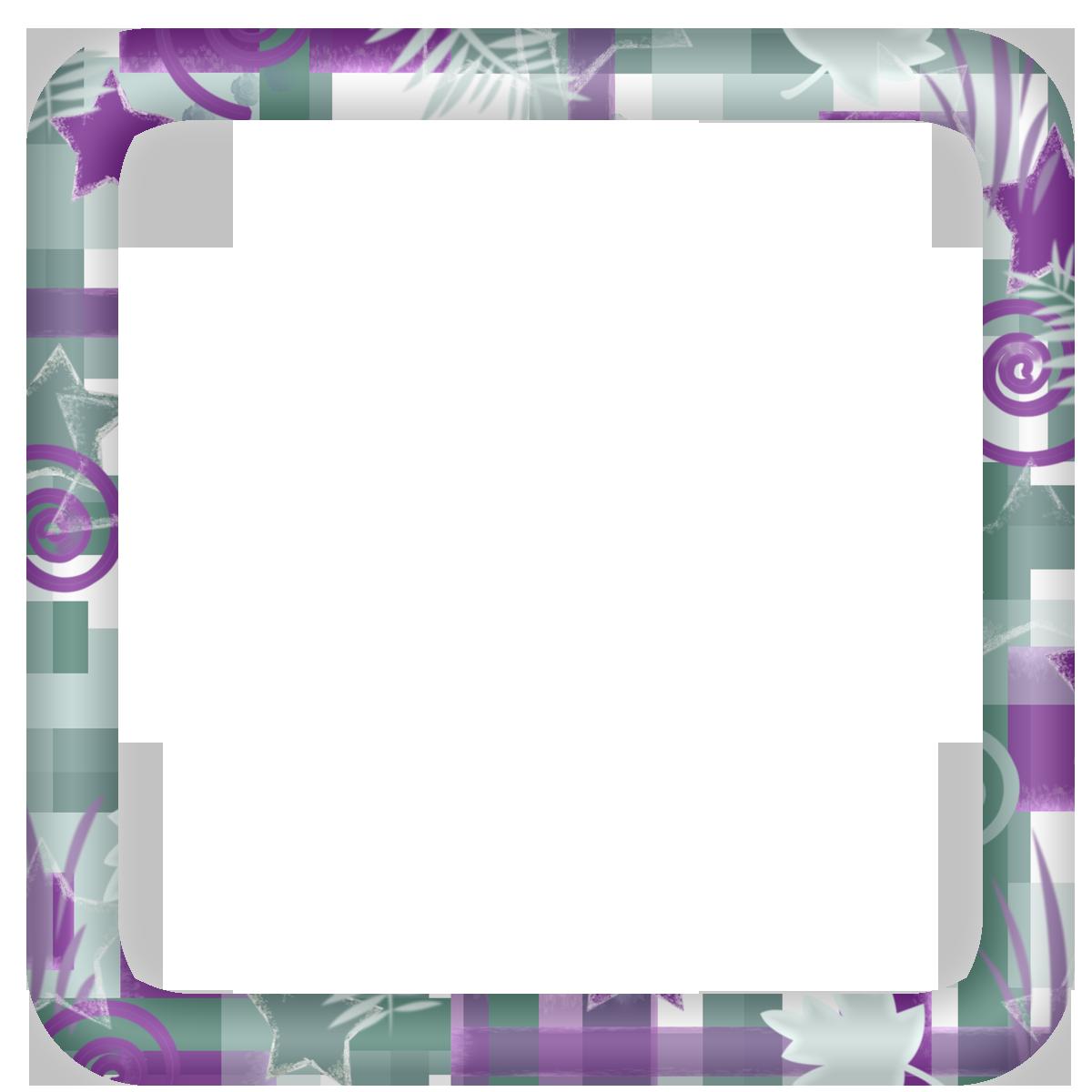 Free Scrapbooking Frames Elements Free Purple Sage Modern Square Digi Scrapbook Frame Scrapbook Frame Sage Modern Modern Square