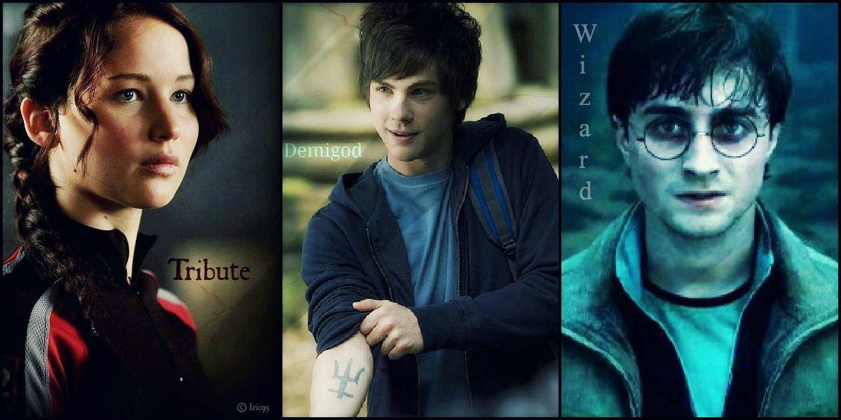 3 Legends Harry Potter Percy Jackson Katniss Everdeen