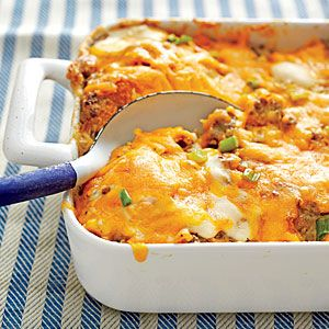 Easy biscuit breakfast casserole recipes
