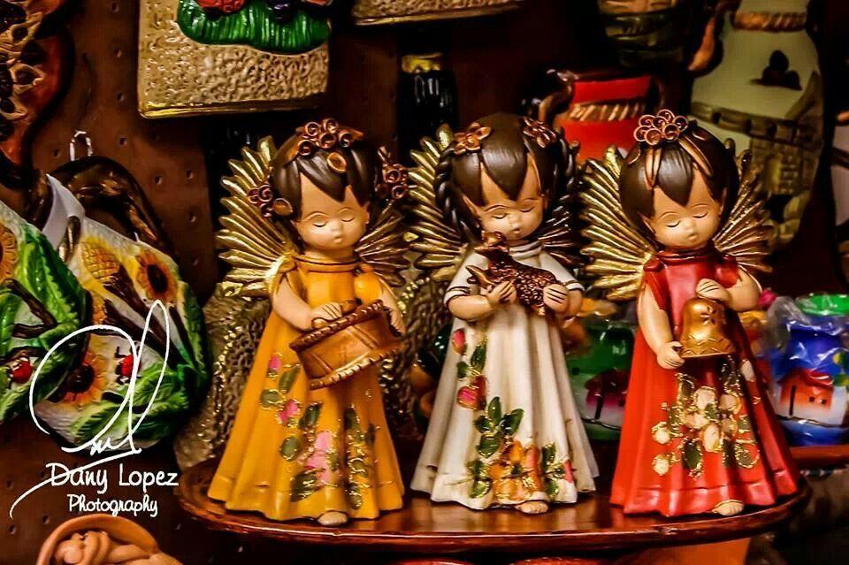 Artesan as navide as chapinas guatelinda pinterest angel for Artesanias navidenas