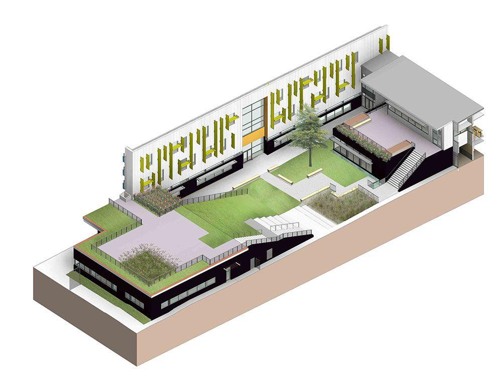 Hazel Wolf K-8 School, Seattle Public Schools - Seattle, Washington - NAC|Architecture: Architects in Seattle & Spokane, Washington, Los Angeles, California