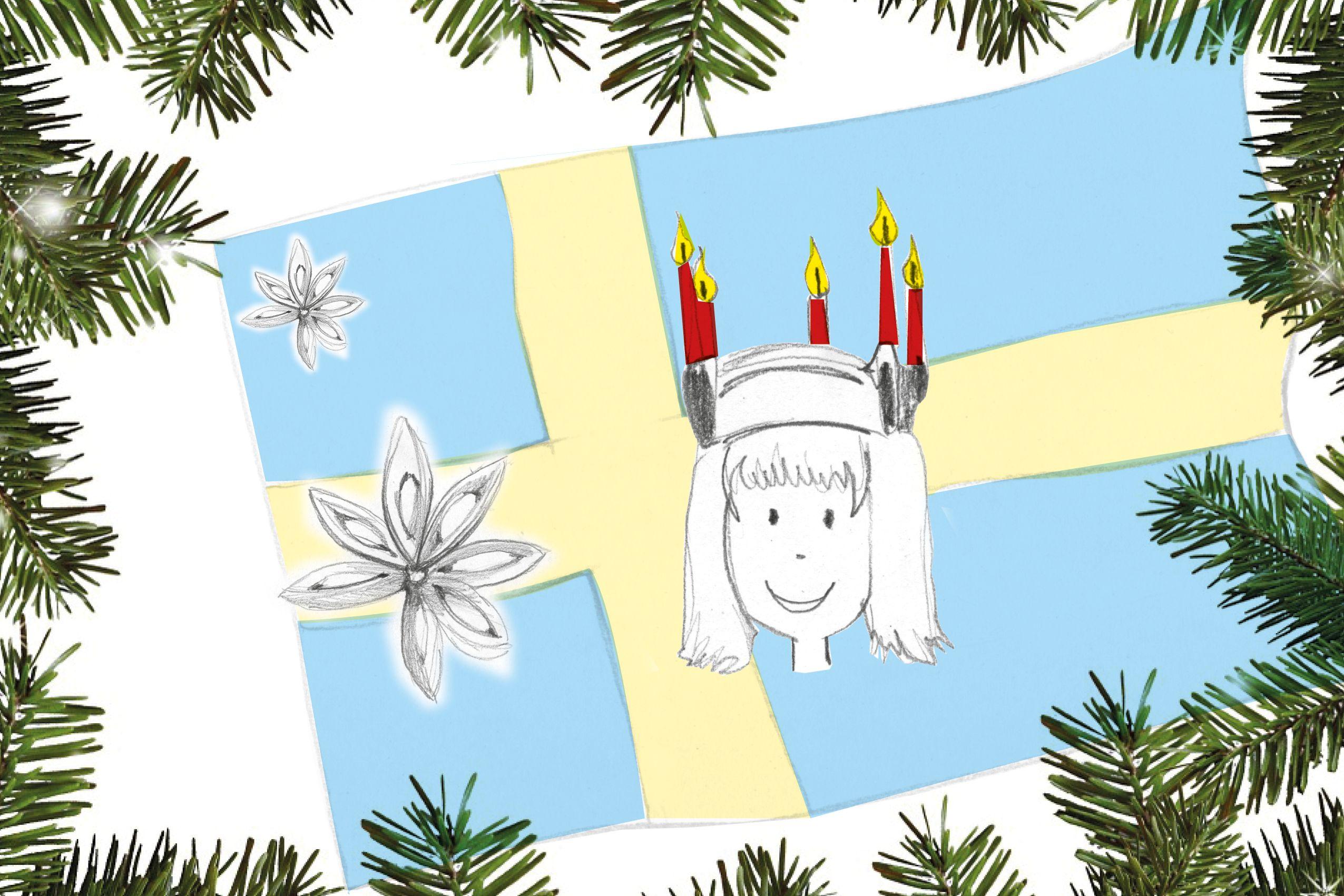ausmalbilder weihnachten in anderen ländern  wie wird