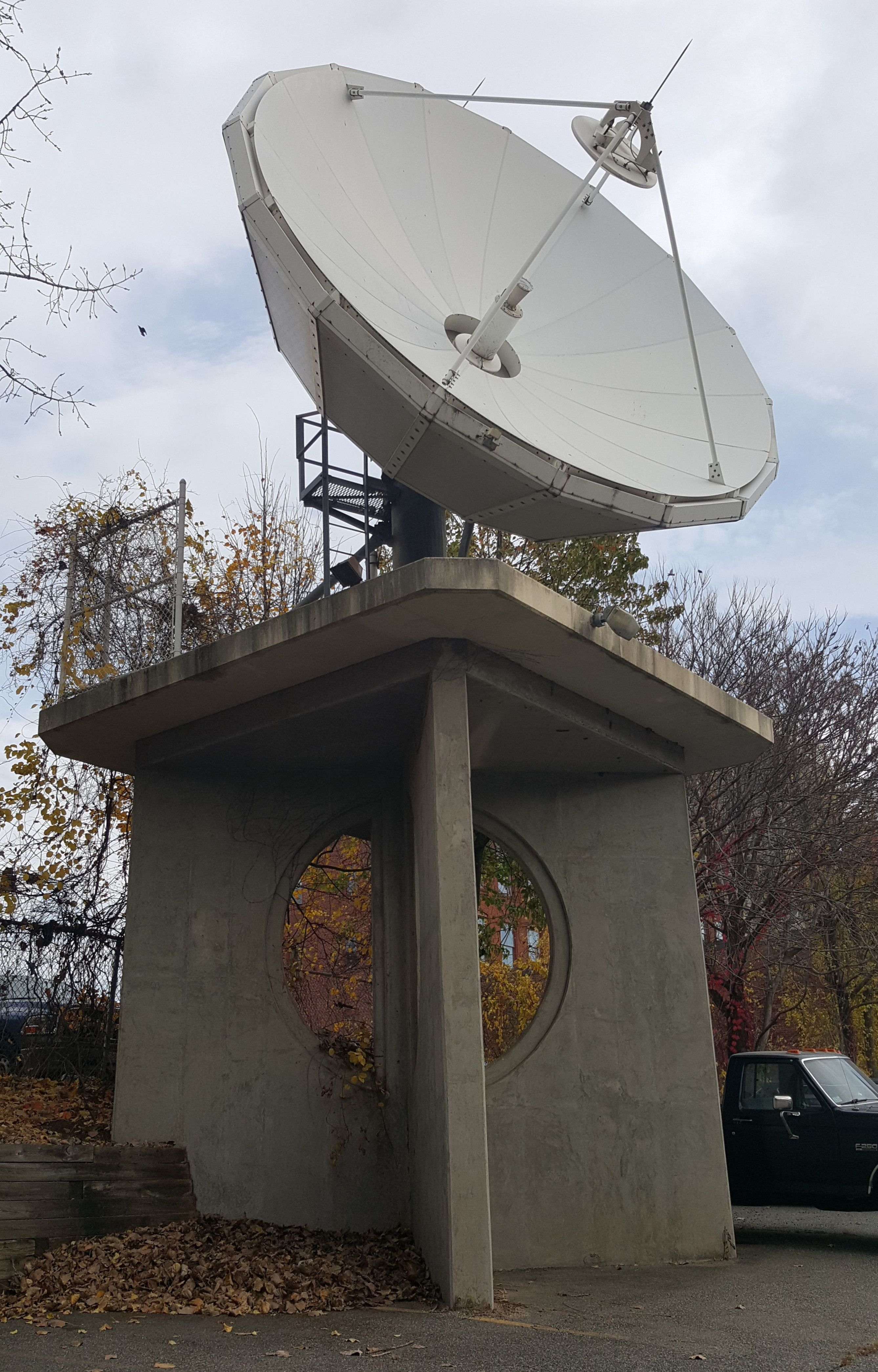 Satellite Dish Springfield MA [2675x4181][OC]