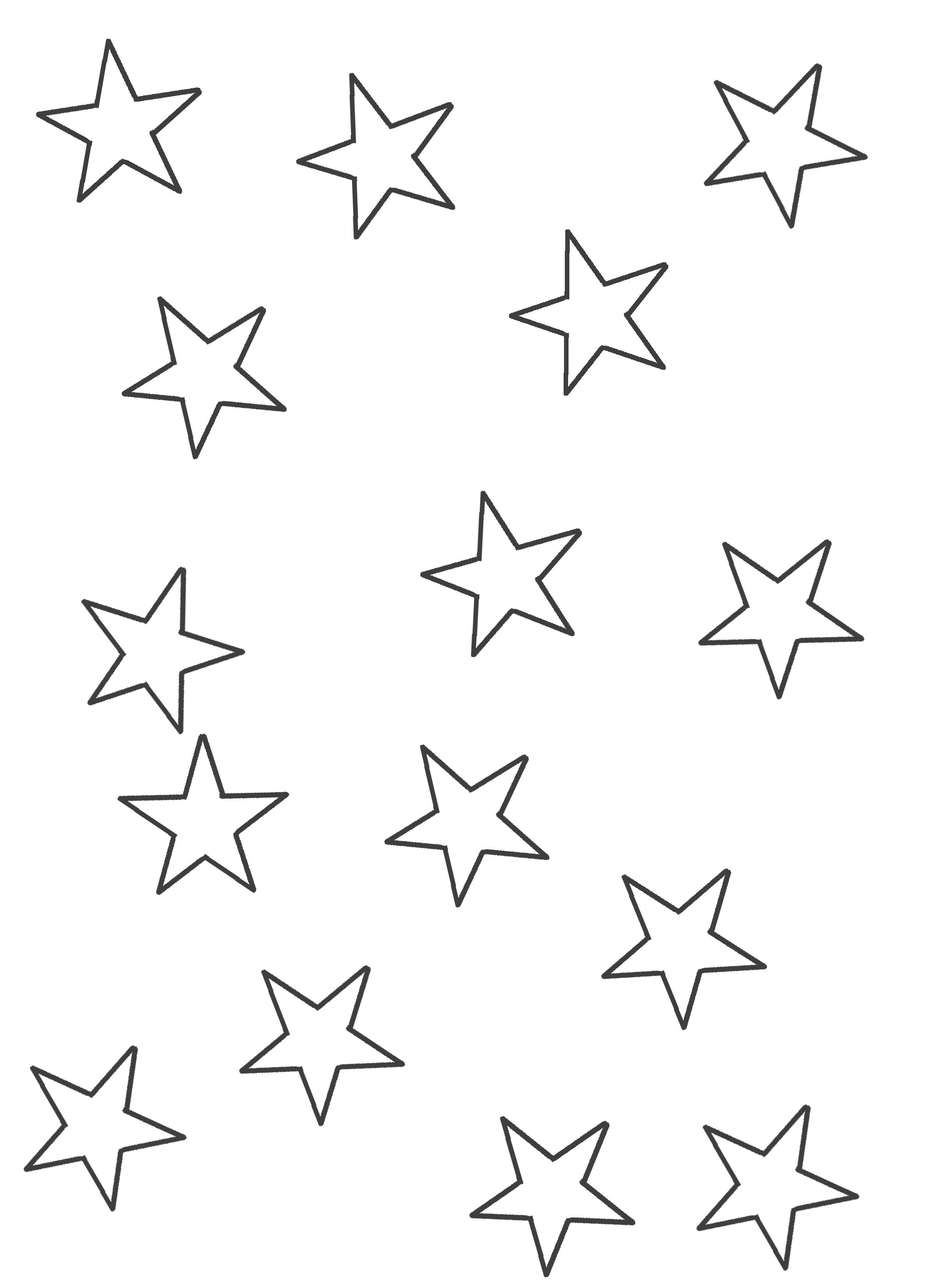 Dibujo De Estrellas Medianas E1554160013371 Estrellas Para