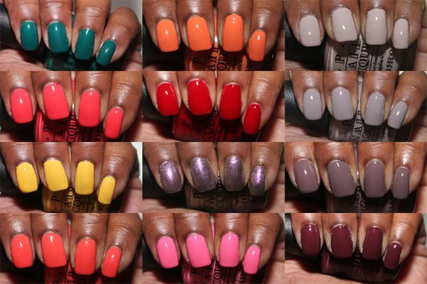 Gimme That Glow Colors For Dark Skin Fun Nail Colors Nail Colors Spring Nail Colors