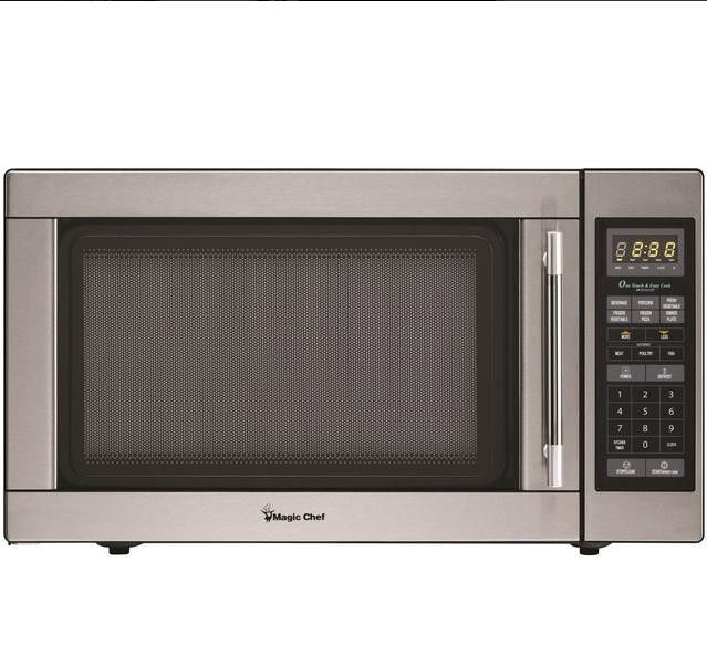 1 6 Cf 1100watt Microwave Stainless Stainless Steel Design Is