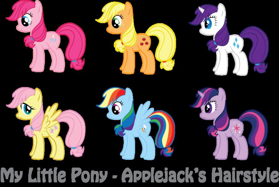 Mlp Applejack S Hairstyle By Vonborowsky On Deviantart My Little Pony Applejack Applejack Mlp Hairstyles