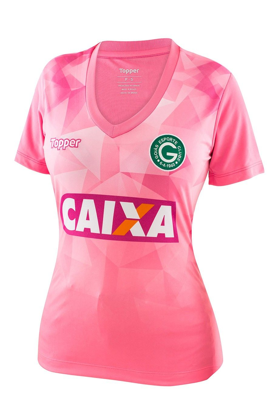 Goias 2018 Rose October kit Camisetas Deportivas Mujer 448ba3ff072d5