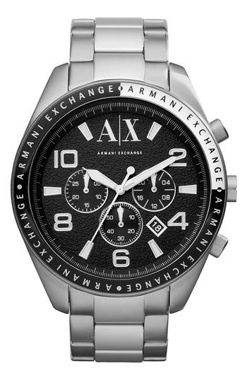 b3113695b94c BF gift AX Armani Exchange Round Bracelet Watch available at  Nordstrom
