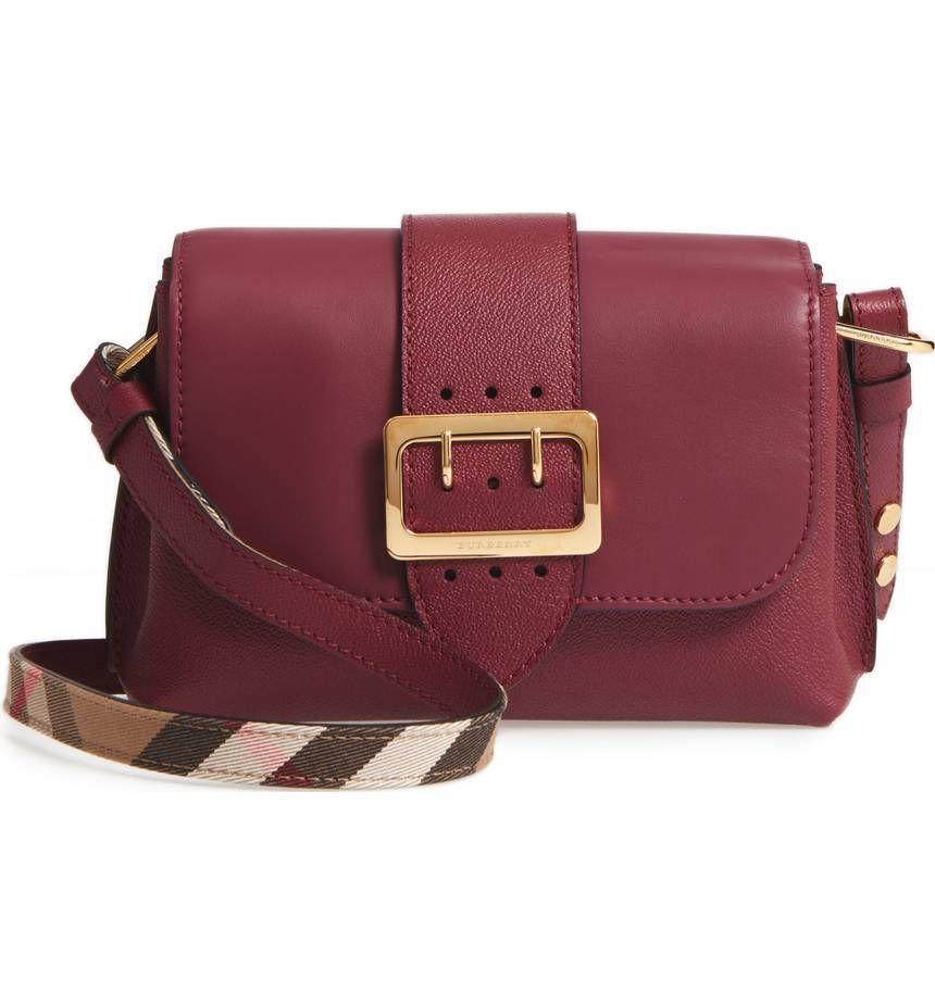 a296e5637a NEW BURBERRY Medley Leather Shoulder Bag Rtls.  1295.00 Leather Crossbody  Handbags