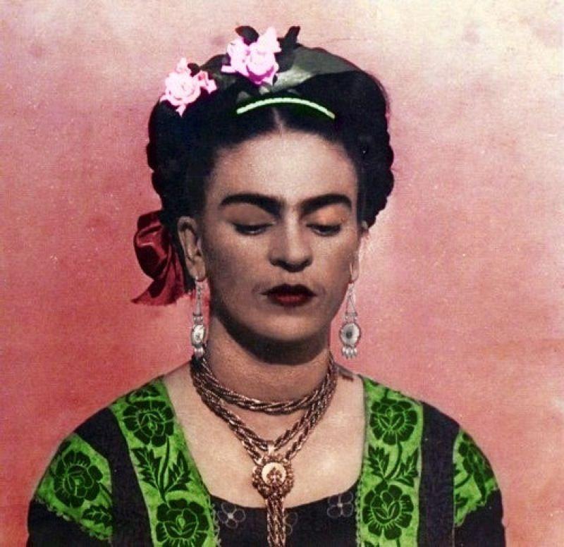 A journey through the eyes of frida kahlo