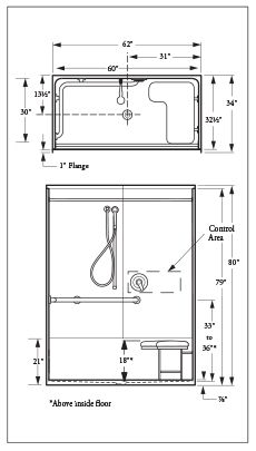 Ada measurement requirements 2015 shower google search - Ada bathroom stall door requirements ...