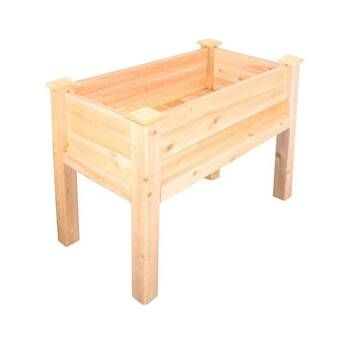 8ft x 12ft Raised Garden Bed with Deer Fence | Elevated ...