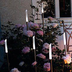 garten licht #garden #garten Zeigen Sie Ihre Blumen im Dunkeln! #Garten #Beleuchtung #Dekoration #Lichter #Gartenbeleuchtung #Rosa #Terrasse #zuhause