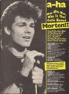 Morten Harket Poster With Images East Of The Sun Aha Band No