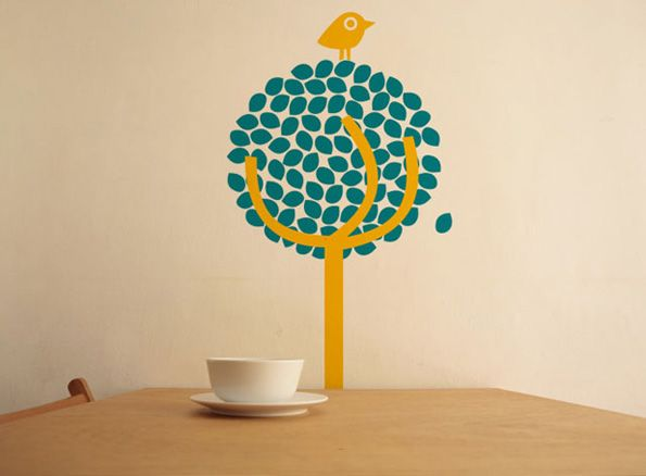 Creative Sticker Designs to Live Up Your Room Wall