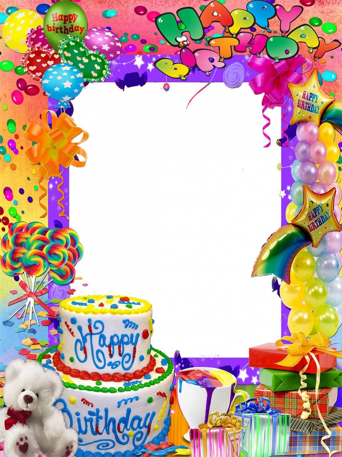 Birthday Card Name Editor in 7  Happy birthday photos, Happy