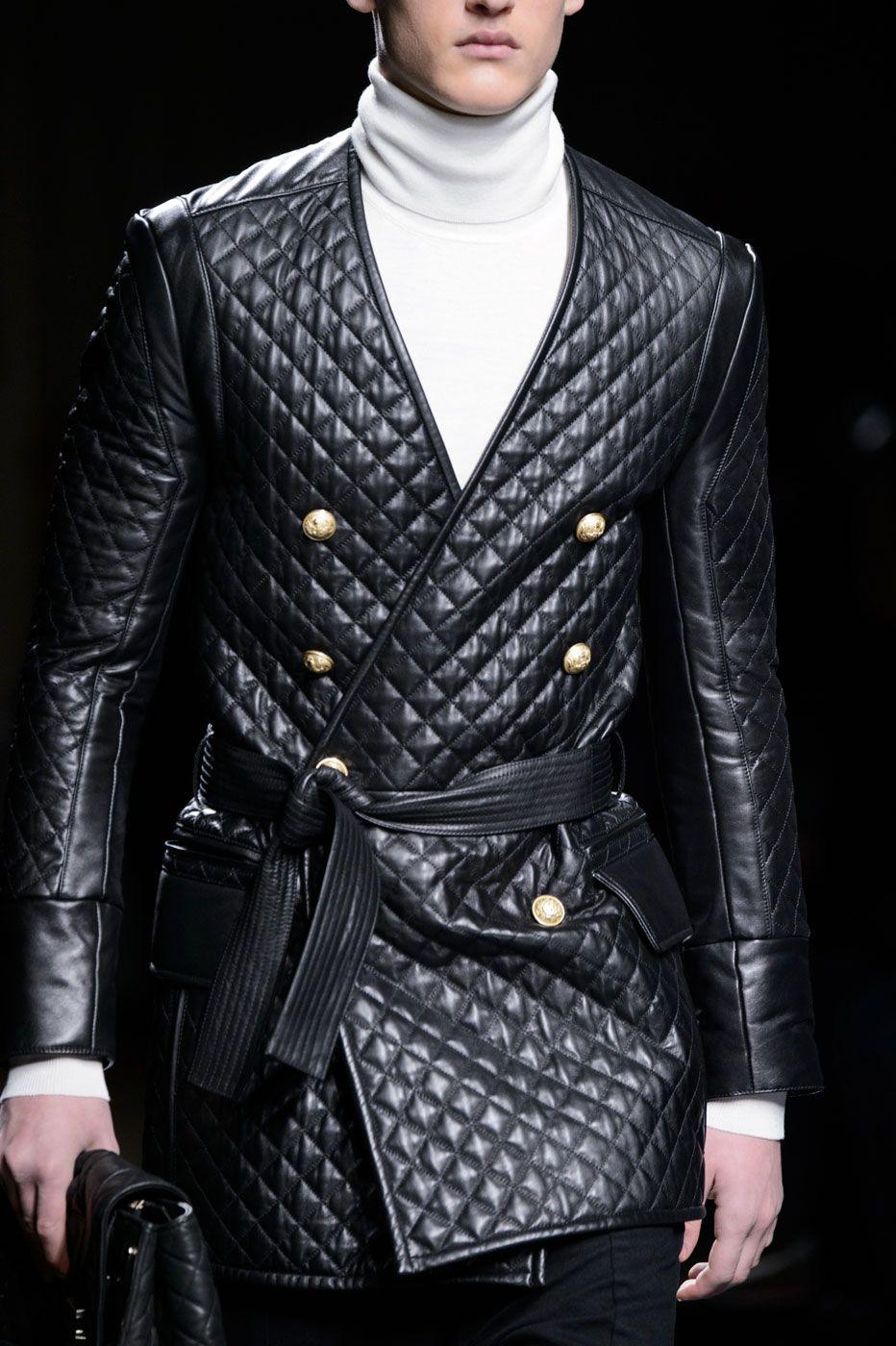 Balmain menswear FW16 | See more fashion at styleisviral.com