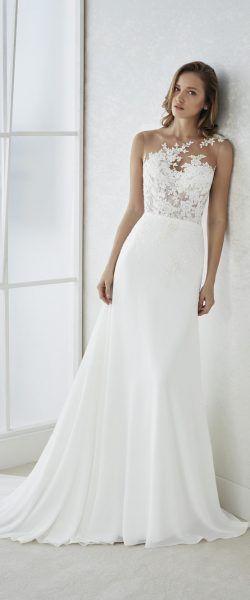 gefunden bei Happy Brautmoden Brautkleid elegant, elegantes ...