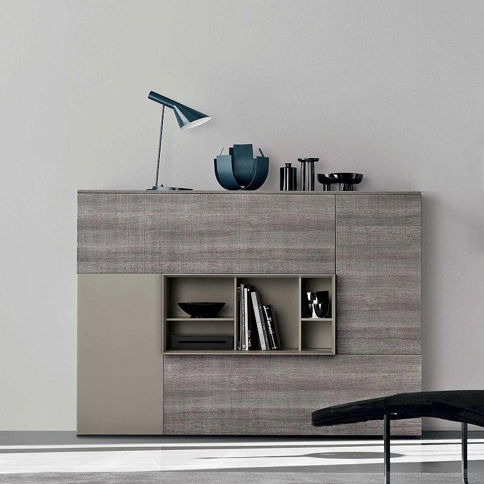 Sideboard Hungar Ii By Santarossa Ultramodern And Elegant  # Giellesse Muebles