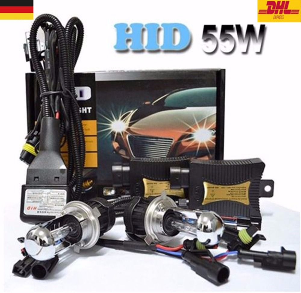 Spevert 55w Xenon Hid Kit H4 9003 High Low Beam 8000k 12v Car Headlight Lamp Bulbs Ballast Germany I With Images Recessed Light Conversion Kit Car Lights Light Accessories