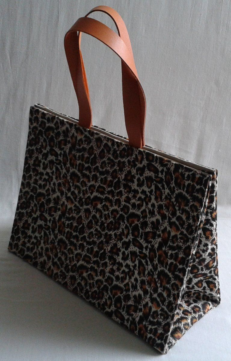 Bolsa estampa animal print