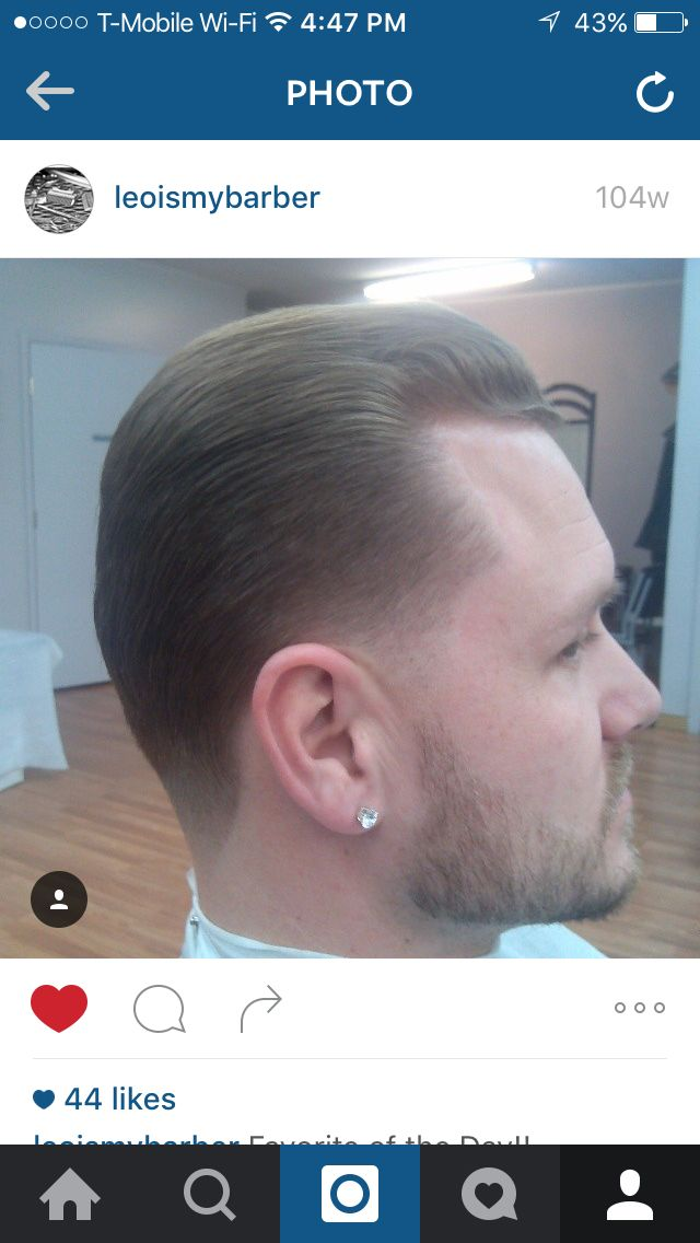 Mens Haircut With A Light Taper Coloradospringsbarber Barber
