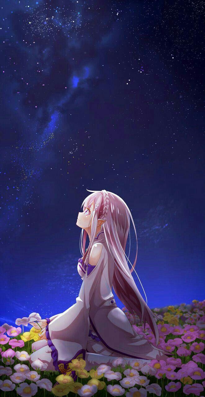 Emilia Re Zero Manga anime, Anime, Hình ảnh