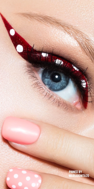 Julia Kuzmenko/Bēhance Makeup, Polka dots fashion