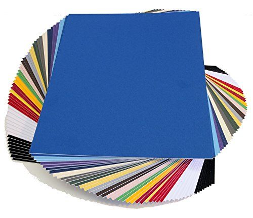 Set of 20 ARCHIVAL  mixed colored 8x10 Picture Mats  for 5x7 Pictures