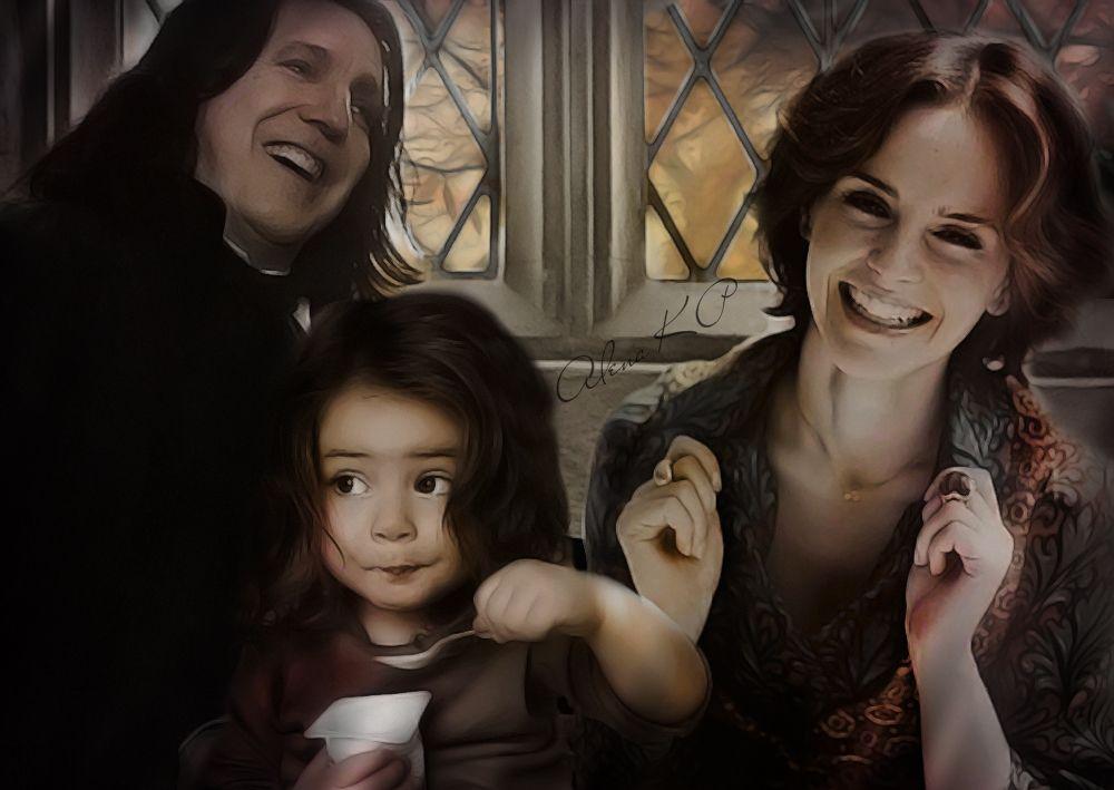 Fanfiction severus snape hermine granger  Hermione Granger