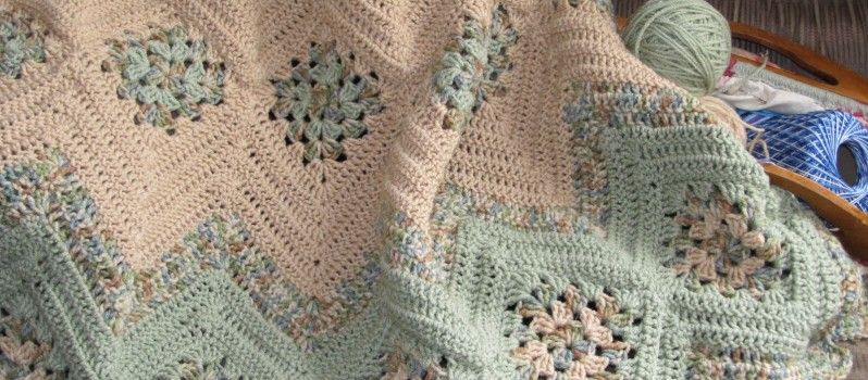 ripple granny | Craft Ideas | Pinterest