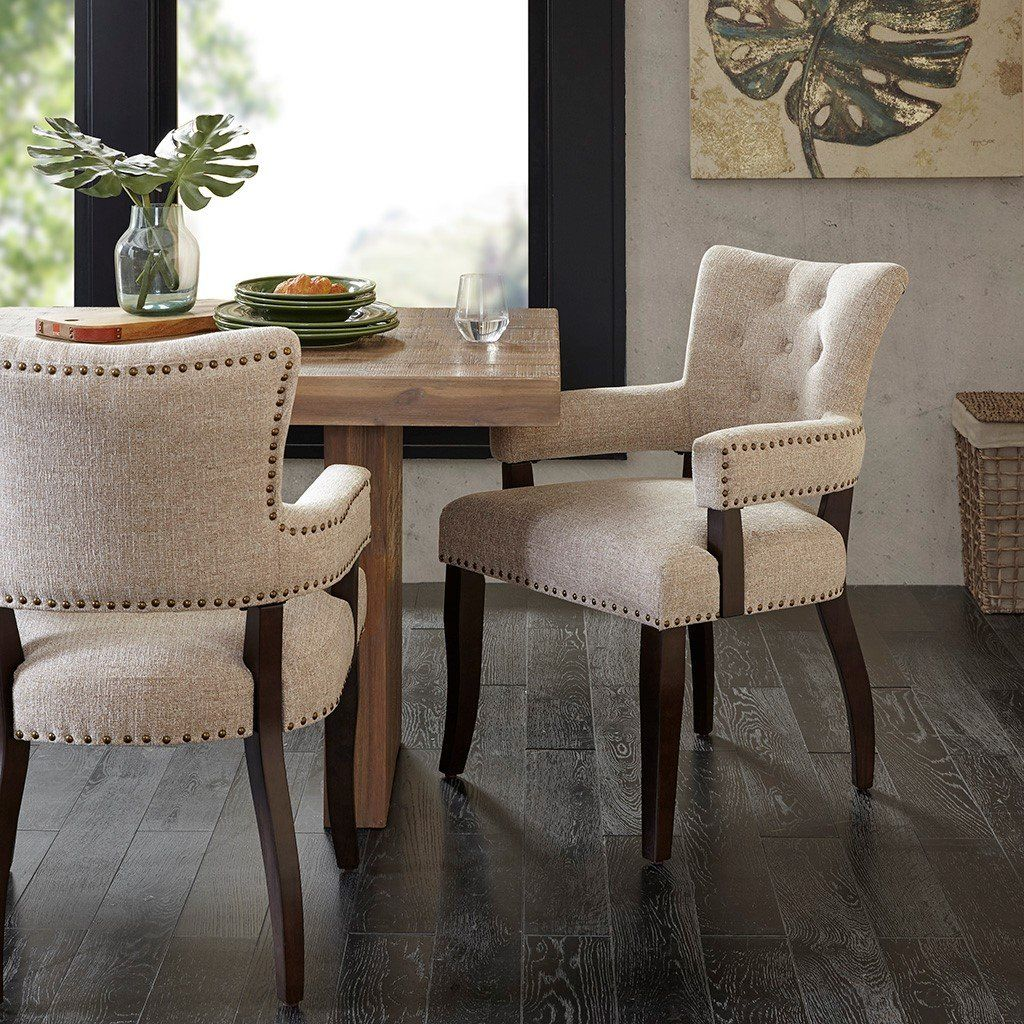 Brooklyn Arm Chair Set Of 2 Dining Chairs Farmhouse Dining Chairs Dining Arm Chair Comfortable dining chairs with arms