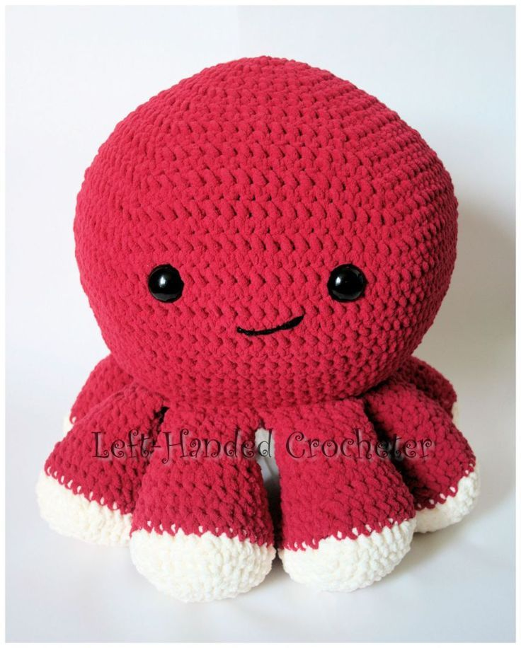 Giant Octopus Free Crochet Pattern Octopus Crochet Pattern Crochet Octopus Stuffed Animal Patterns