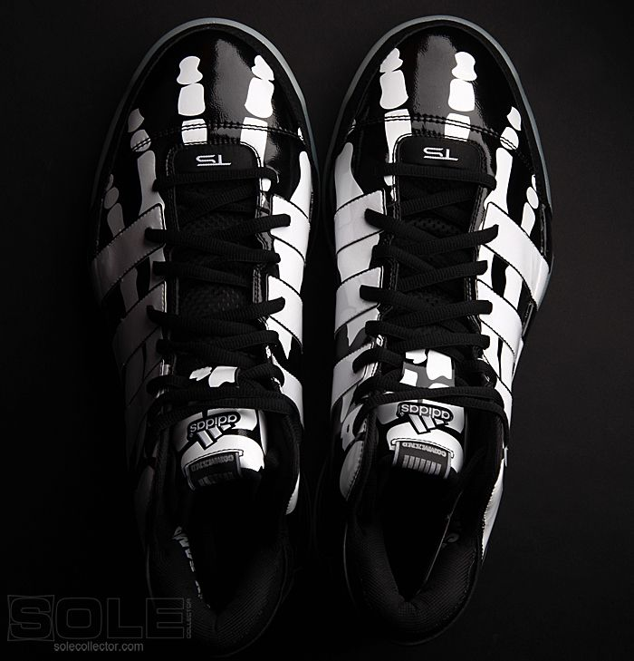 size 40 7cdf4 d1ce6 Big Fundamental - Tim Duncan Skeleton Shoes by Adidas Shoes  SkeletonShoes TimDuncan Adidas