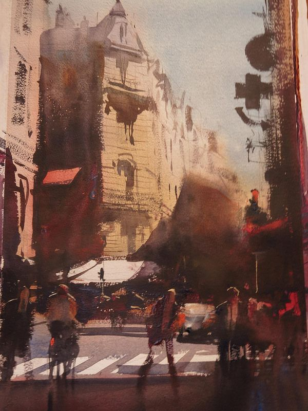 Alvaro Castagnet.Paris | Flickr - Photo Sharing! #watercolor jd